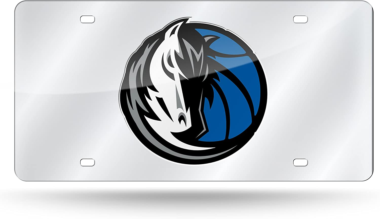 NBA Rico Industries  Laser Inlaid Metal License Plate Tag Dallas Mavericks
