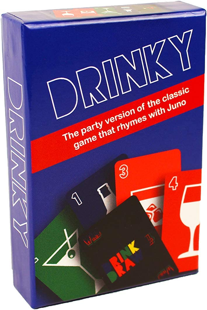 Drinky Party Game | The Party Version of The Game That Rhymes with Juno | Card Games for Adults