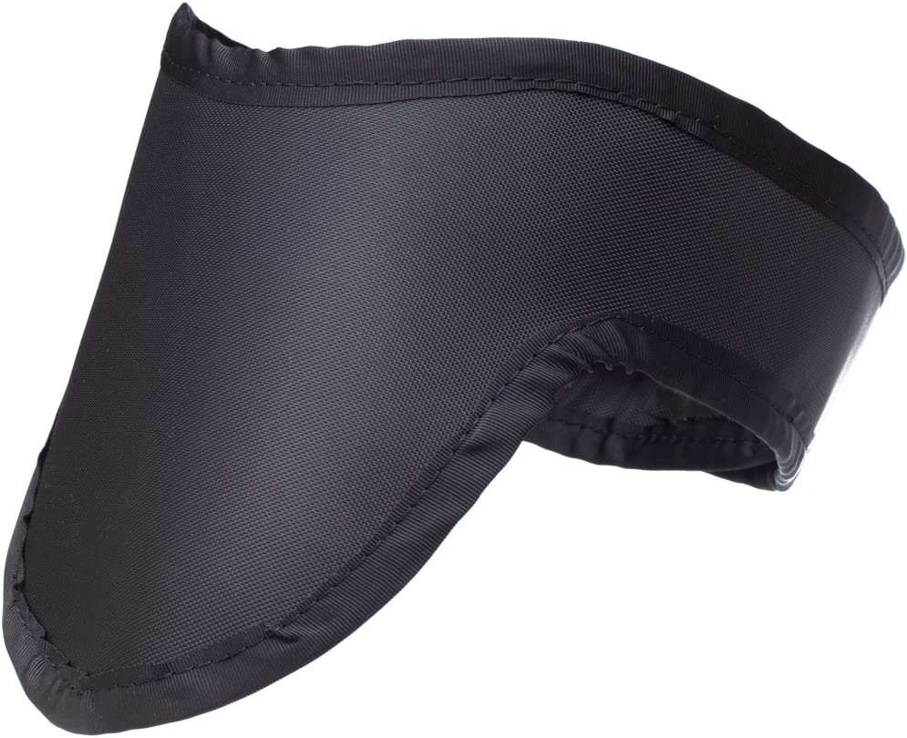Thyroid Shield Light Weight Radiation Protection 0.5mm Pb Lead Equivlancy in Black: Health & Personal Care