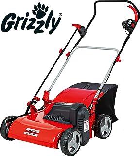 Grizzly EV 1800 40 - Scarificatore elettrico in acciaio con sacco di raccolta, 1800 W, robusto alloggiamento in acciaio con superficie di lavoro di 40 cm