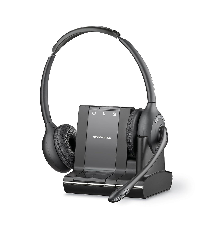501347b618b Plantronics W720 SAVI Wireless UC UK Binaural DECT Headset  Amazon.co.uk   Computers   Accessories
