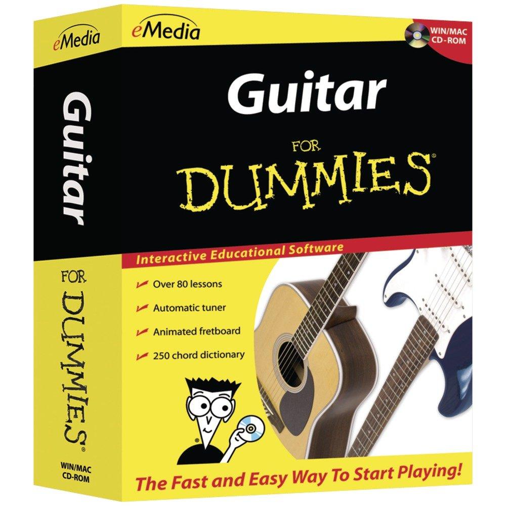 Amazon Emedia Guitar For Dummies Emedia Software