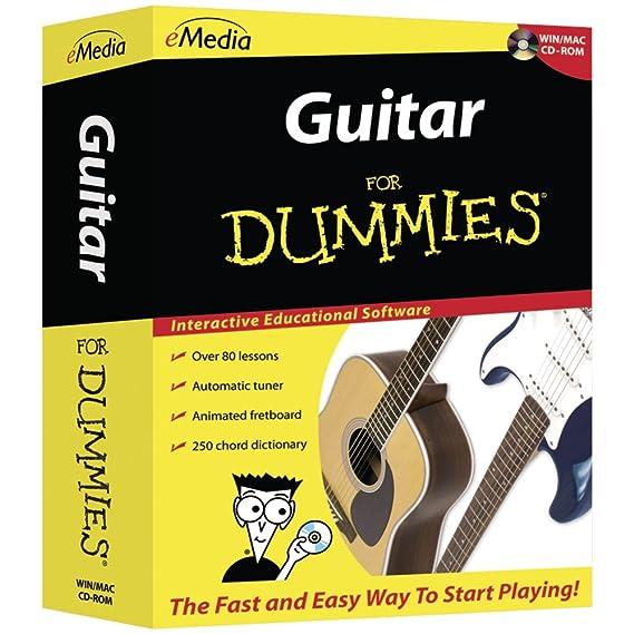 amazon com emedia guitar for dummies emedia softwareimage unavailable