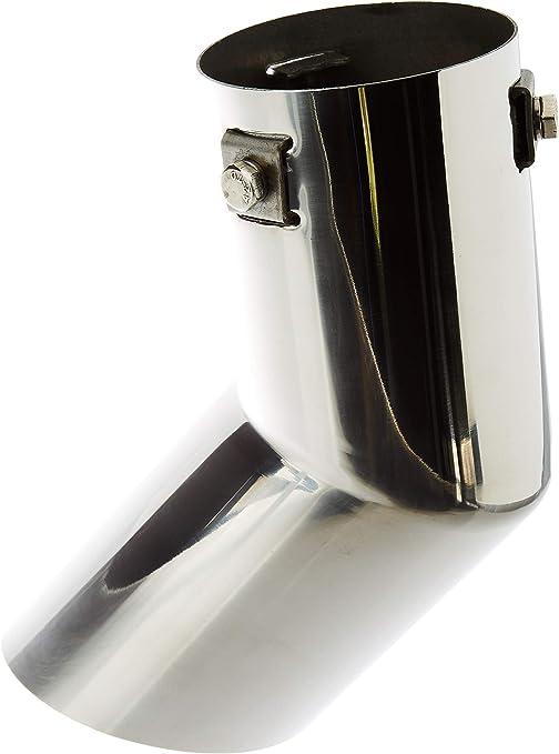 ER60013 - Acero inoxidable de tubo de escape del tubo de escape de para atornillar Embellecedor de tubos de escape universales