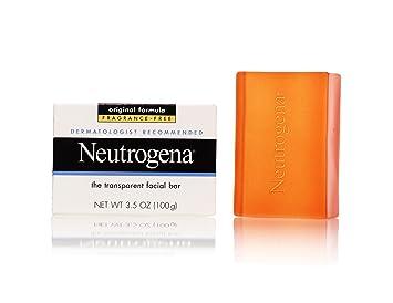 Jabon Neutrogena En Barra De Glicerina Para Piel Grasa - Hipoalergenico - Set De 3 Barras