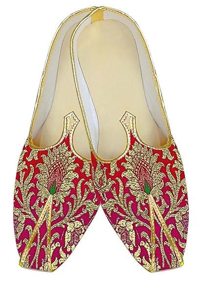 Mens Navy Blue Kheenkhap Wedding Shoes MJ18307