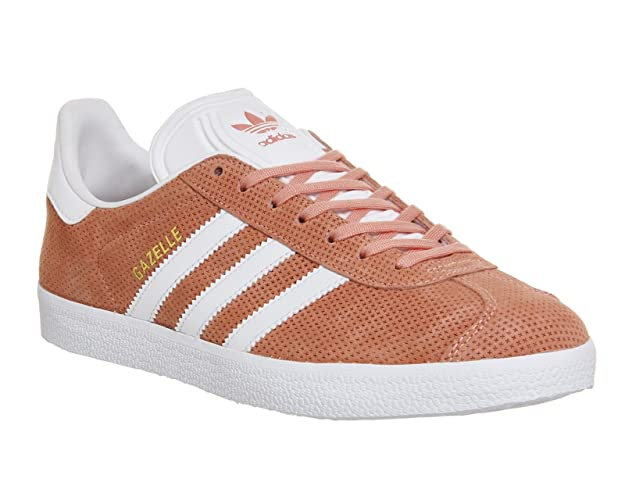 info for efcc7 ca1c3 adidas Gazelle Trainers Pink Amazon.co.uk Shoes  Bags