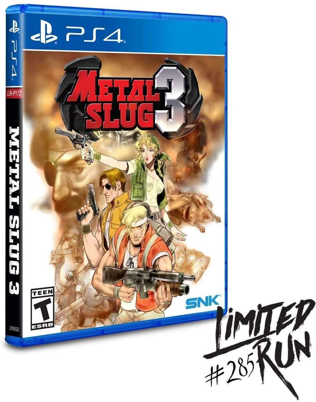 Amazon.com: Metal Slug III PS4: Video Games