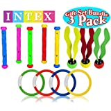 Intex Underwater Swimming/Diving Pool Gift Set Bundle