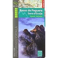 Rasos de Peguera - Serra d'Ensija 1: 25.000