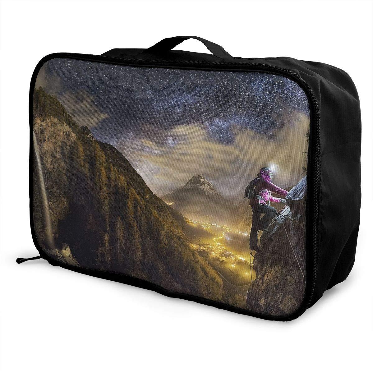 Travel Luggage Duffle Bag Lightweight Portable Handbag Rock Climbing Large Capacity Waterproof Foldable Storage Tote