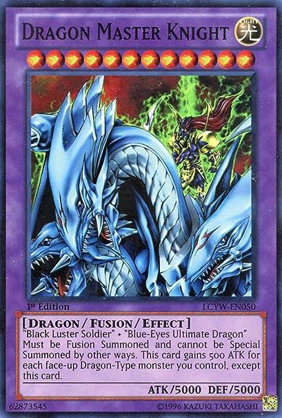 Yu-Gi-Oh!! - Dragon Master Knight (LCYW-EN050) - Legendary Collection 3: Yugis World - 1st Edition - Super Rare