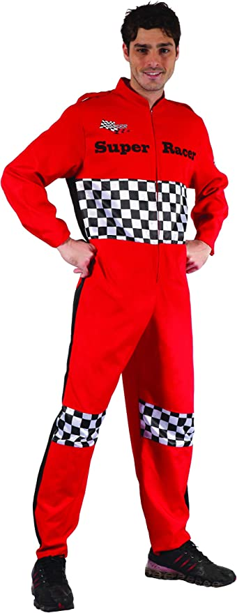 Costume da pilota da corsa per adulto Taille M