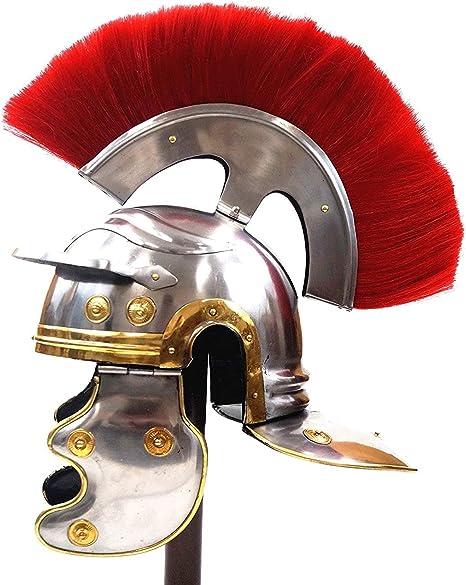 CREAM WHITE PLUME CREST BRUSH For ROMAN Helmet Armor