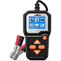 ANCEL BA301 6V 12V Battery Load Tester Car Alternator Analyzer Cranking Charging System Test Tool for Motorcycle Car…