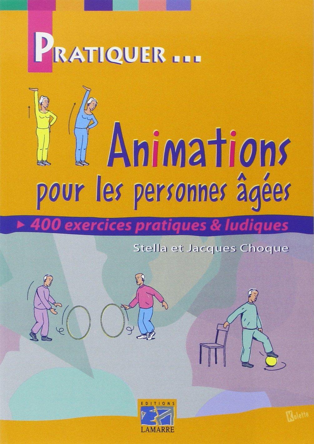 Favorit Amazon.fr - Animations pour les personnes âgées - J. Choque - Livres MB21