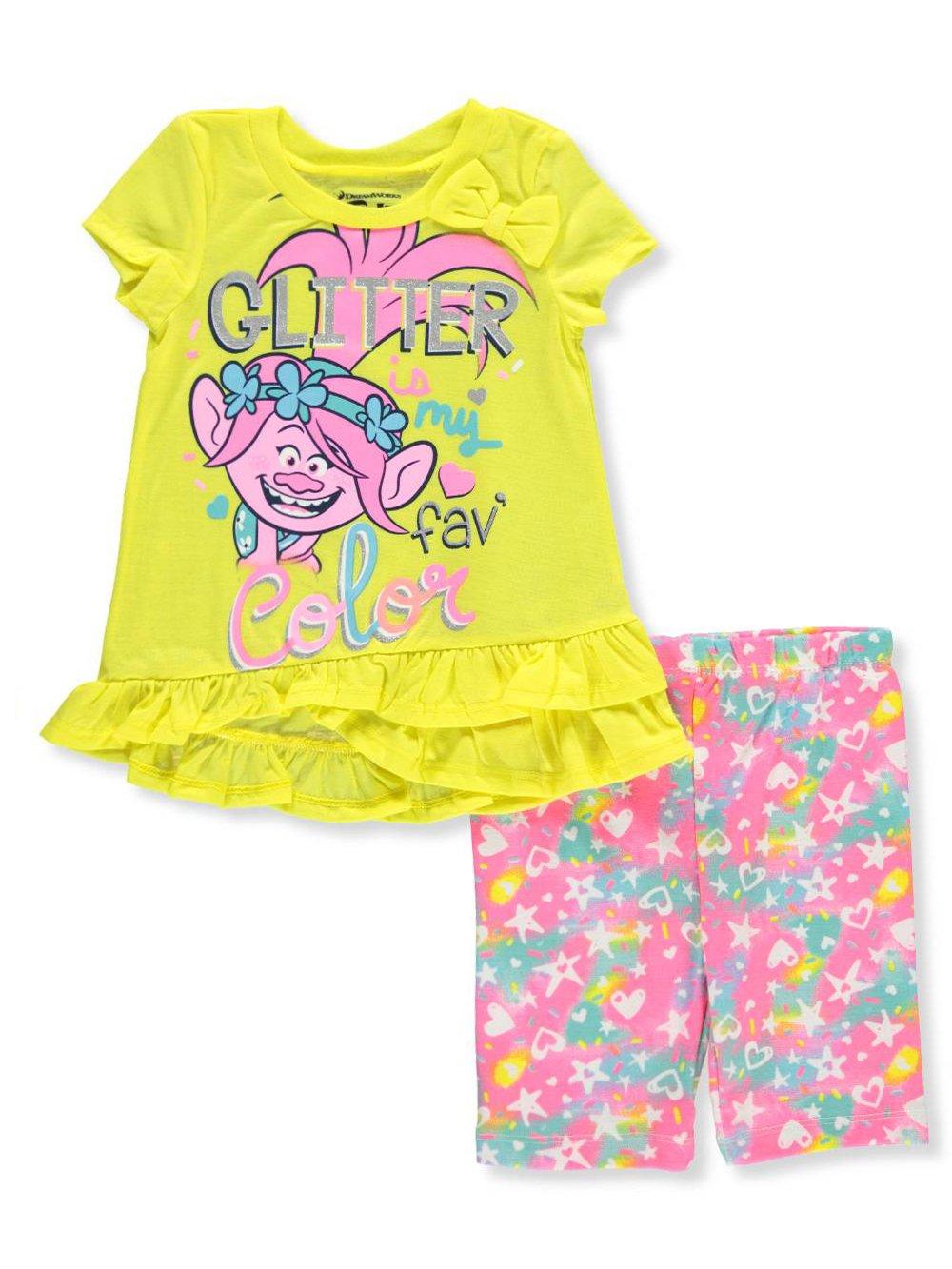 Trolls Girls' 2-Piece Outfit