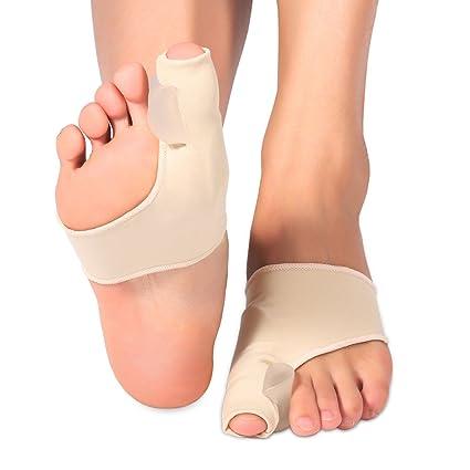 Gel Pad Juanete Corrector, separador de dedos de gel Toe separadores de dedos de los