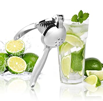 UMIGAL Citrus Juicer Limón Exprimelimones de calidad Juice Extractor Exprimidor, Manual, Acero inoxidable,