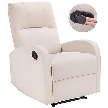 Amazon.com: Homall - Silla reclinable manual acolchada de ...