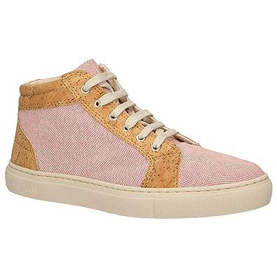 Zweigut® Hamburg echt #403 Damen High Top Kork Sneaker