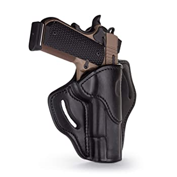 1791 GUNLEATHER 1911 Holster, Right Hand OWB Leather Gun Holster