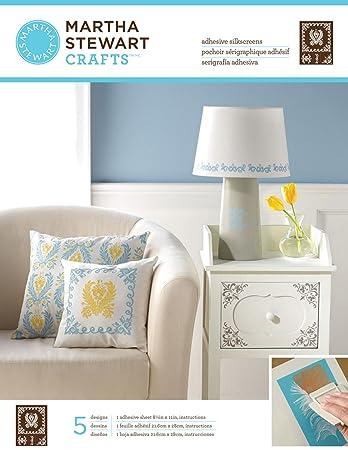 Plaid: Craft Martha Stewart selbstklebend Siebdruck 21,6x 27 ...