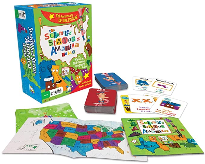 Gamewright Scrambled States approx. $15