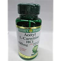Nature's Bounty Acetyl L-Carnitine, 400 mg, with Alpha Lipoic Acid 200 mg, Capsules, 30 ct (Pack of 3)