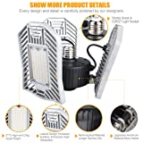 LED Garage Lights 3000k Triple Glow Light
