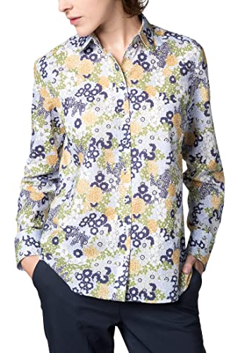Eterna Long Sleeve Blouse Modern Classic Printed