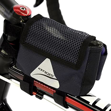 Axiom Top Tube Bag Touch Screen SmartBag Phone GPS Sleeve Black 2 Pockets for sale online