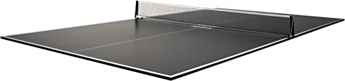 JOOLA Regulation Table Tennis Conversion Top with Foam Backing and Net Set