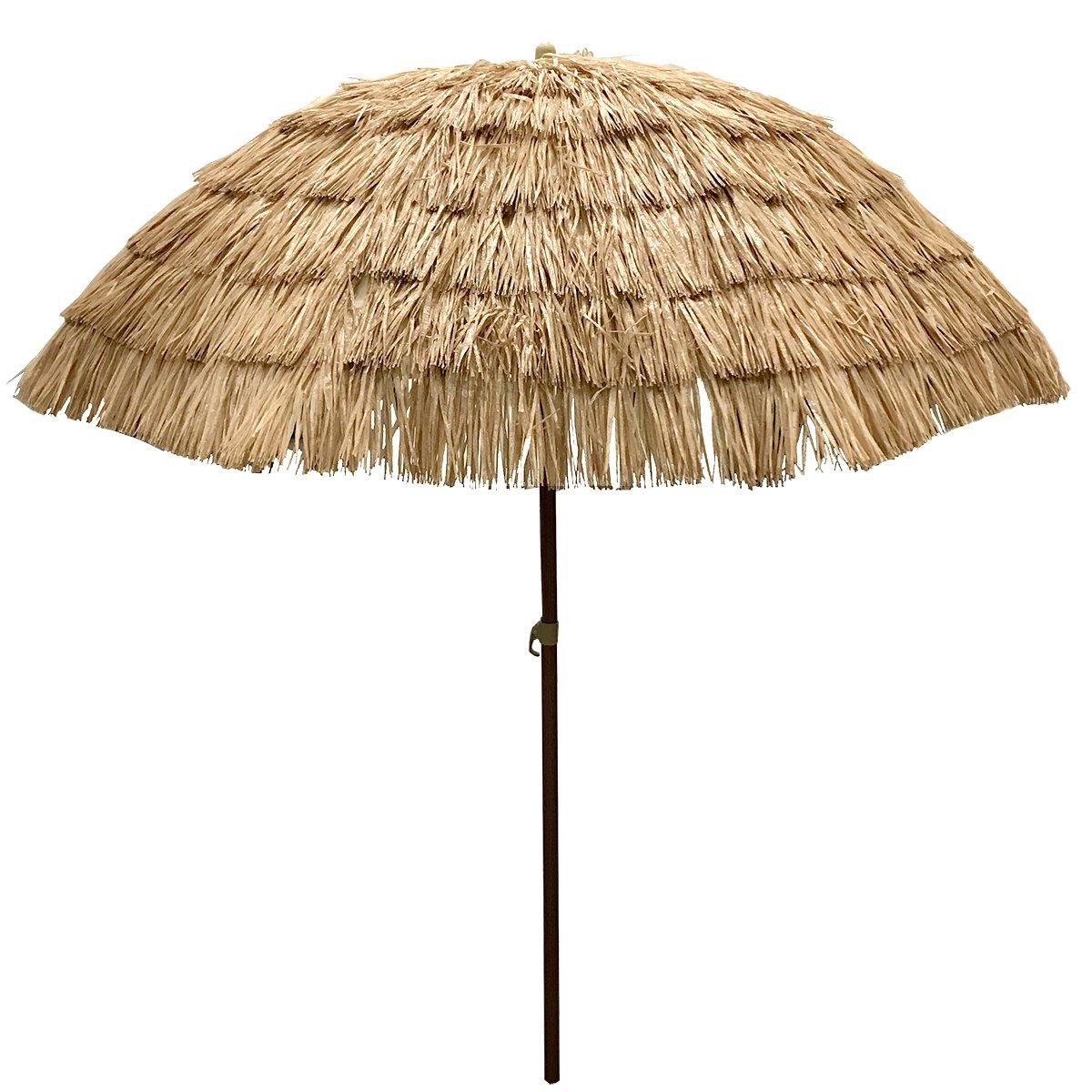 EasyGo - 8' Thatch Patio Tiki Umbrella