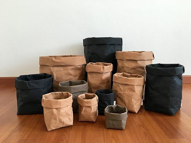 Superbe STORAGE BASKET : Kraft Paper Storage / Kitchen Basket / Laundry Bag / Eco  Bag /