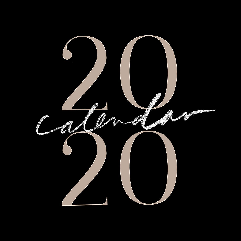 2020 Inspirational Christian Calendar, Wall Calendars, Calligraphy Calendar, Christian Planner, Minimalist, Jenessa Wait (12x12 inch) …