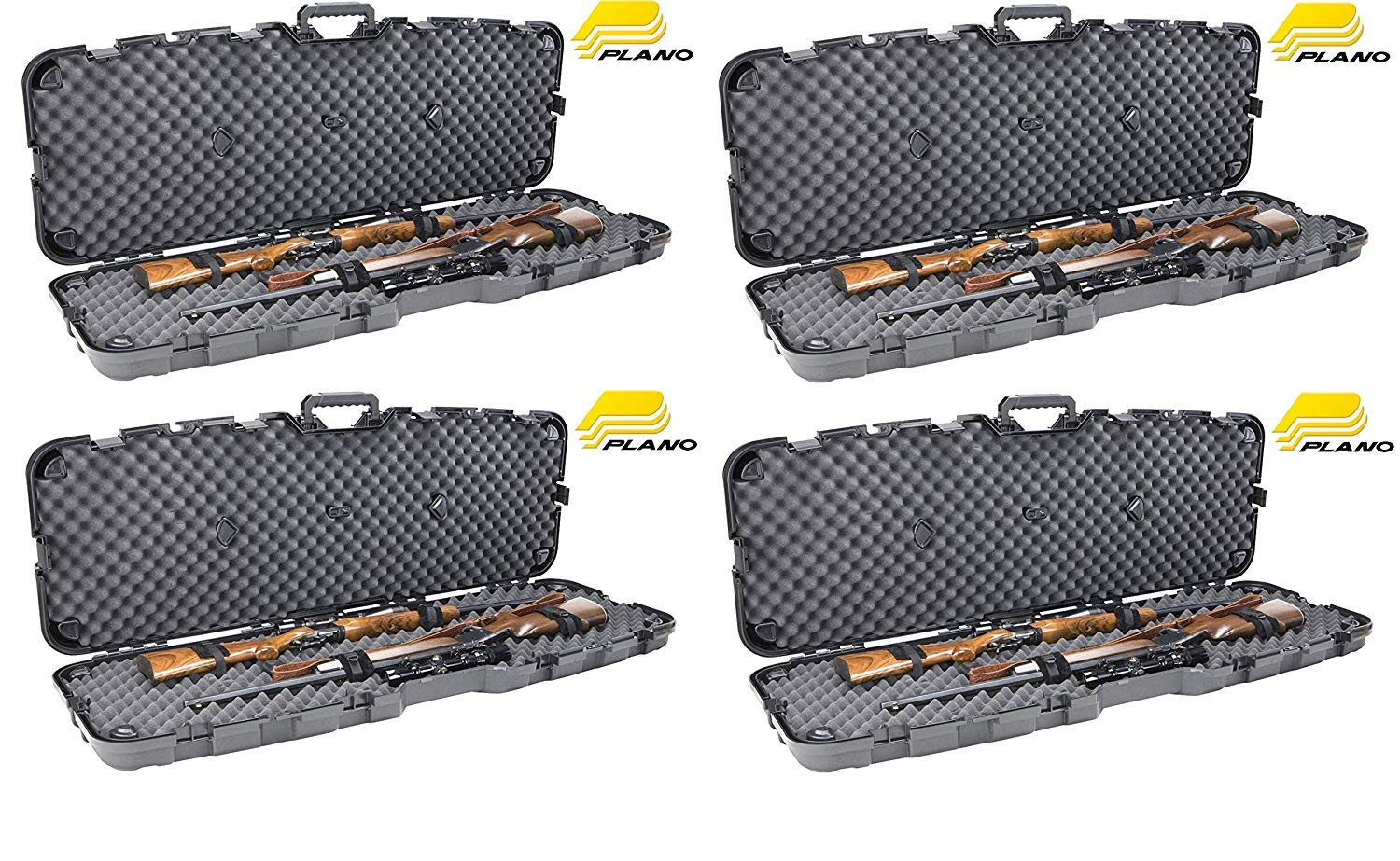 Plano Pro Max Double Scoped Rifle Case (Pack of 4) by Plano