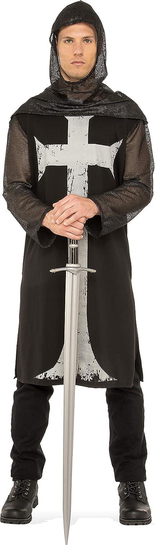 Rubies - Disfraz medieval de soldado cruzado para hombre, Talla ...