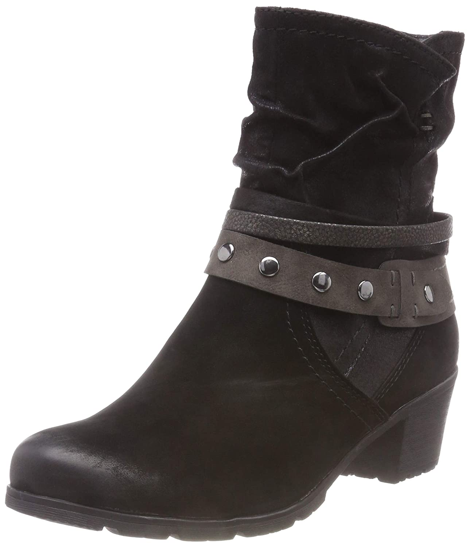 Schwarz(schwarz 001) Jana Damen 8-8-25303-21 001 Stiefeletten