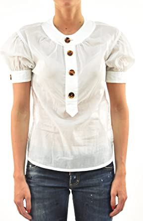 DSQUARED2 Camiseta informal para mujer, blanca y ...