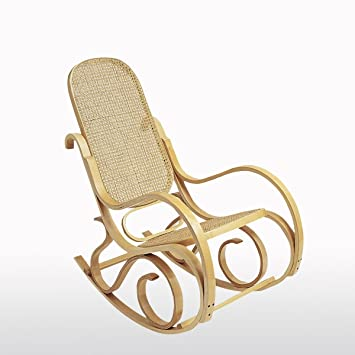 La Redoute Interieurs Inqaluit Cane Rocking Chair Amazon Co