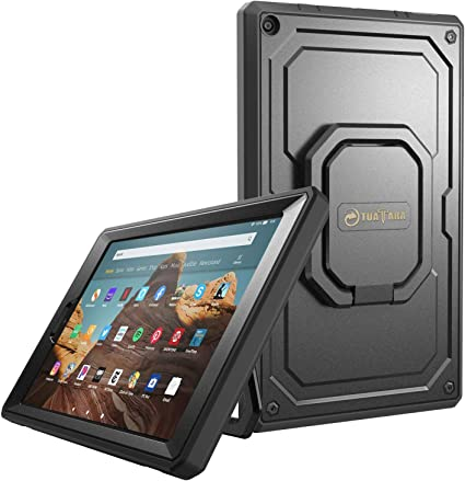 """Folio Skin Cover Case and Screen Protector for Amazon Kindle Fire HD 7/"""" 2014"""
