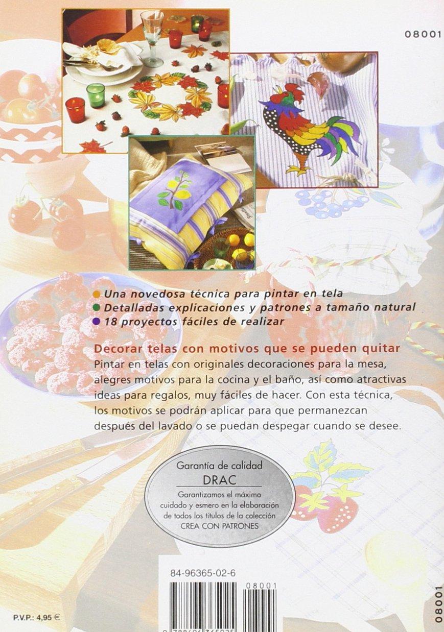 Alegres Motivos Para Pintar En Tela - Manteles, Toallas, Cojines..: ULRIKE HUNDHAMMER: 9788496365025: Amazon.com: Books