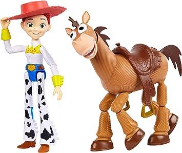 Disney Toy Story 4 Pack de 2 Muñecos, Jessie y Perdigón , Juguetes ...