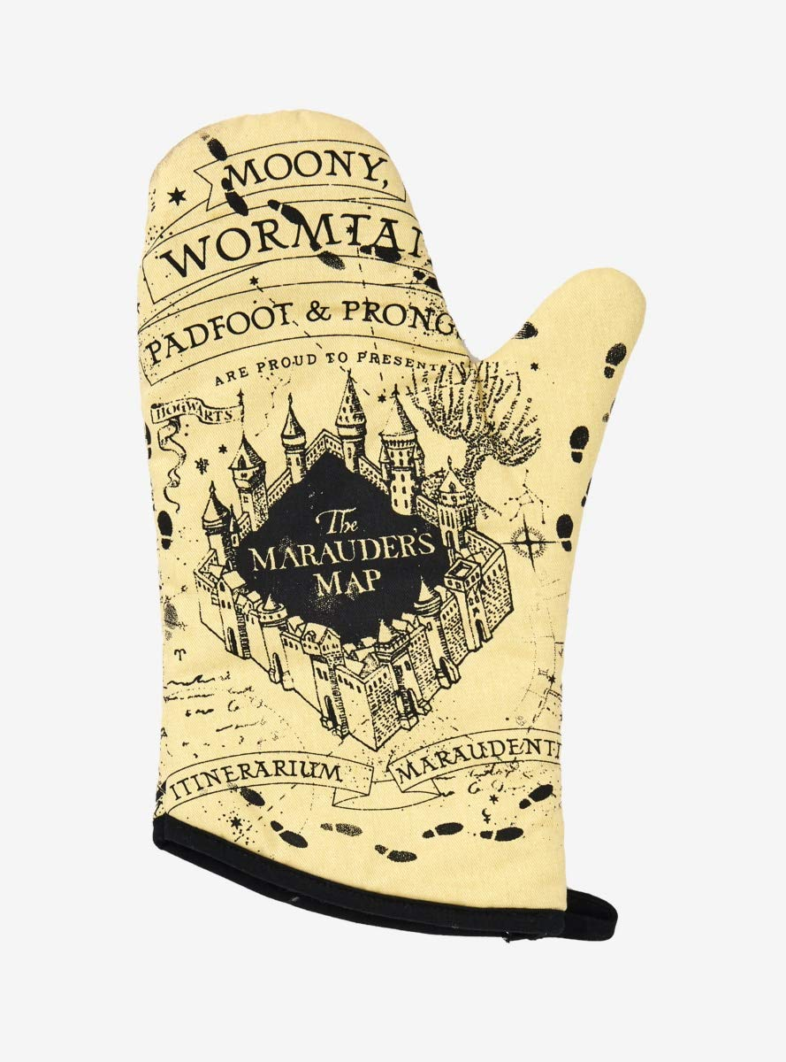 Harry Potter Marauder's Map Oven Mitt