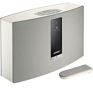 Bose SoundTouch 20 wireless speaker, works with Alexa, White - 738063-1200