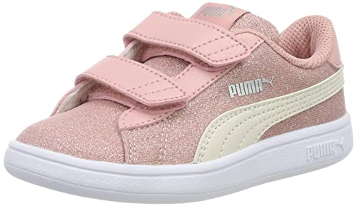 7b62c5e59f7 PUMJV|#Puma Smash V2 Glitz Glam V Inf, Zapatillas para Niñas: Amazon ...