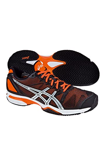 ASICS Gel Solution Speed 2 Clay Tennis Shoes Black: Amazon