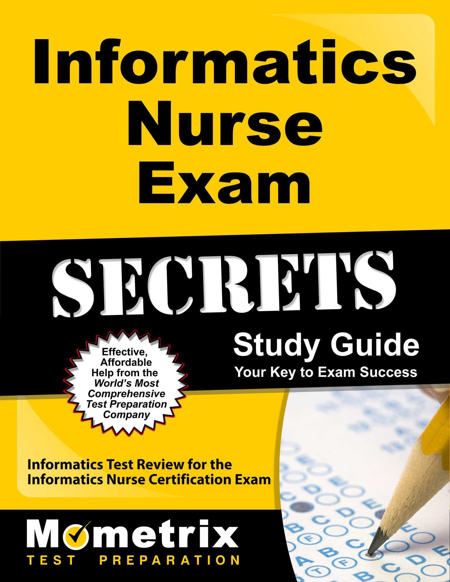Buy Informatics Nurse Exam Secrets Informatics Test Review For The