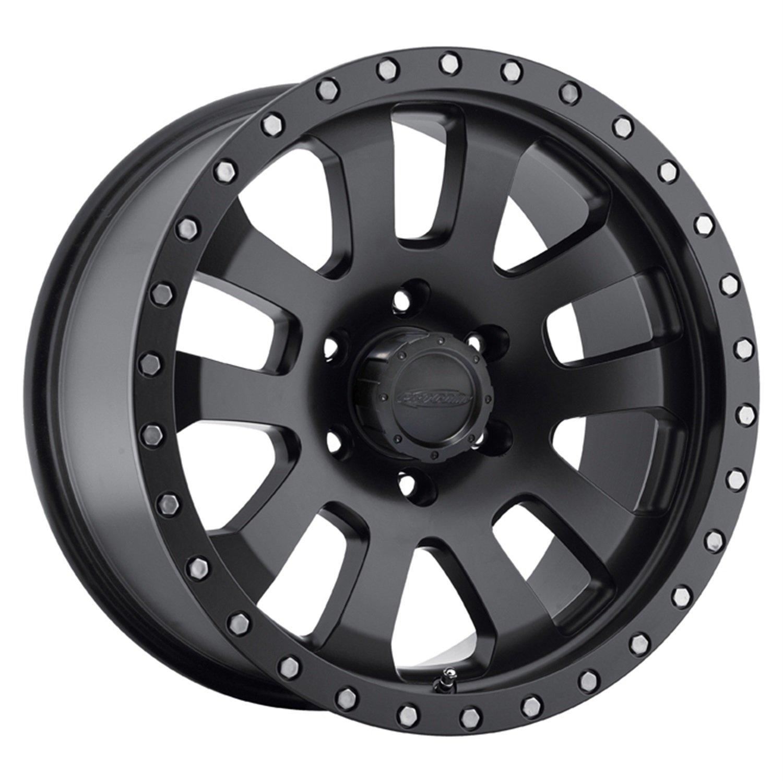 Pro Comp Alloys Series 36 Helldorado Wheel with Satin Black Finish (17x9''/5x127mm) by Pro Comp Alloys (Image #1)